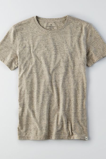 28f5ef40 American Eagle Outfitters AEO Seriously Soft Heathered Crew T-Shirt ...