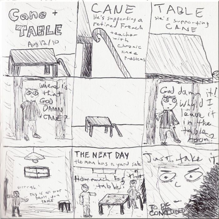 Cane and Table -- the beginning of a balanced friendship