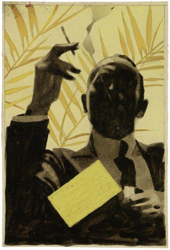Ludwig Hohlwein, 'Cigarette von Kleydorff Origina' ca. 1931