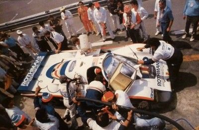 Rothmans Porsche 956 Le Mans