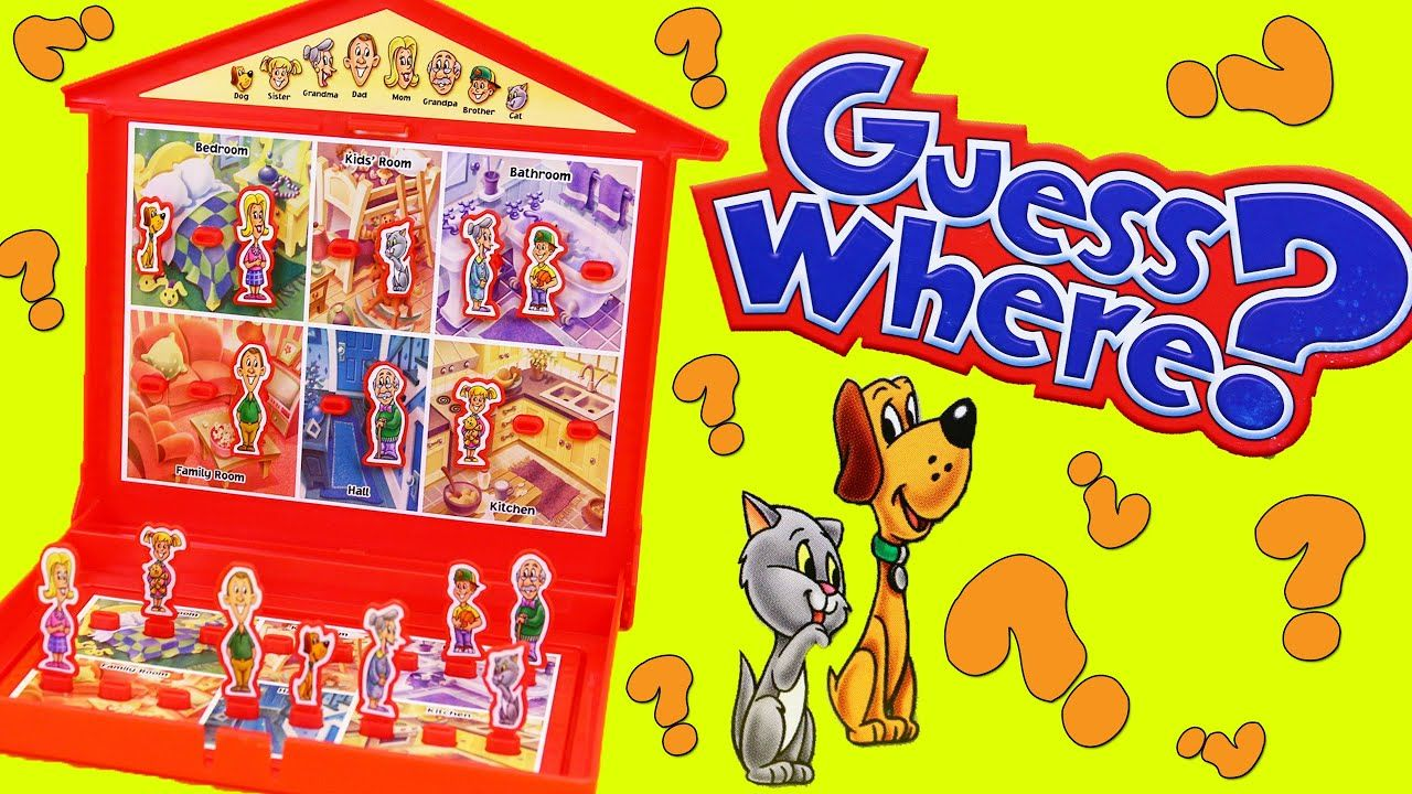 Guess Where? The Family Fun Board Game of Guess Who But