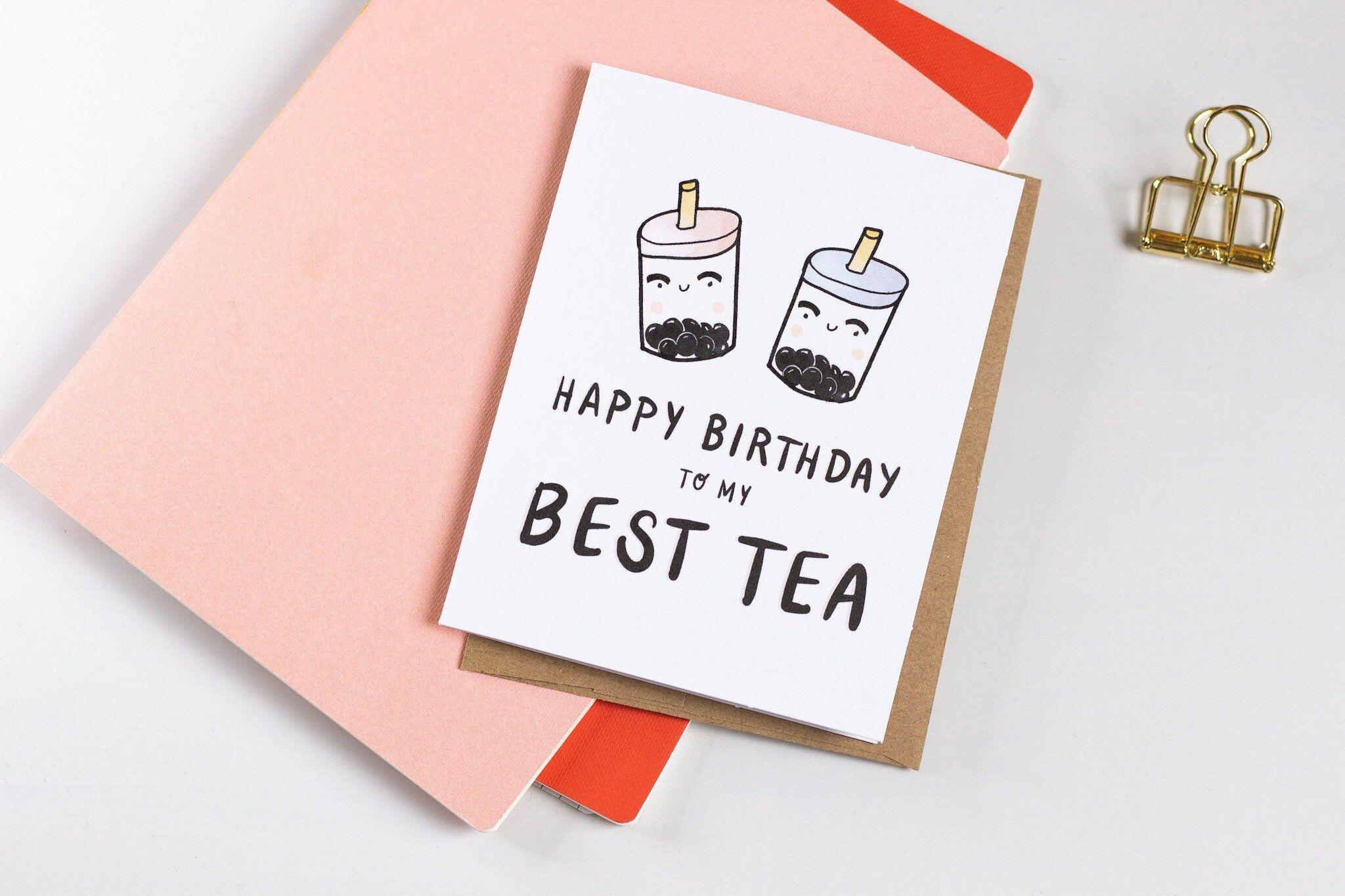 Happy Birthday Friend Best Friend Birthday Card Funny Etsy Birthday Cards For Friends Best Friend Birthday Cards Happy Birthday Drawings