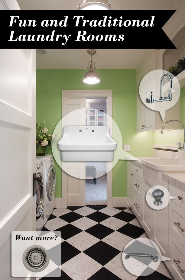 Mood Board Monday #75 Fun and Traditional Laundry Rooms Mood - Design Bathroom