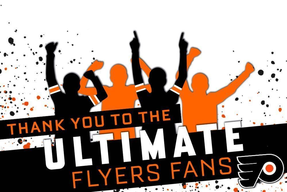 Thank you to the Flyers for a wonderful season! Even