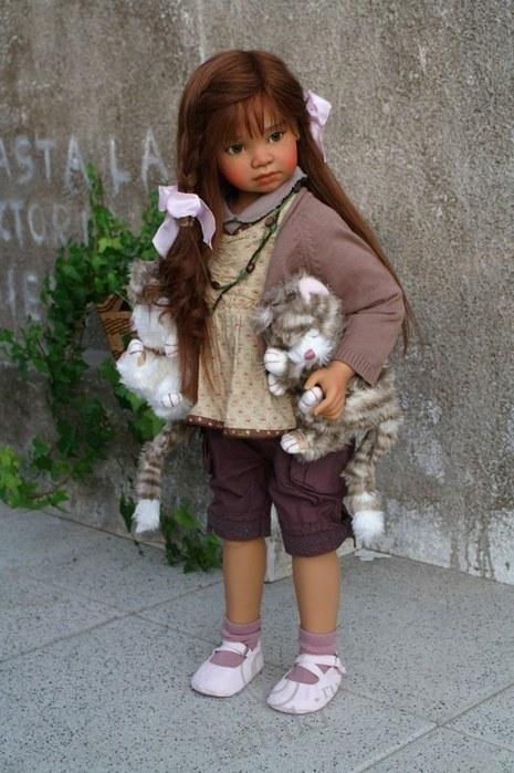 Коллекционные куклы Анжела Суттер - Angela Sutter