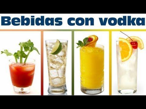 bebidas con vodka muy fciles de preparar bebidas preparadas con alcohol youtube