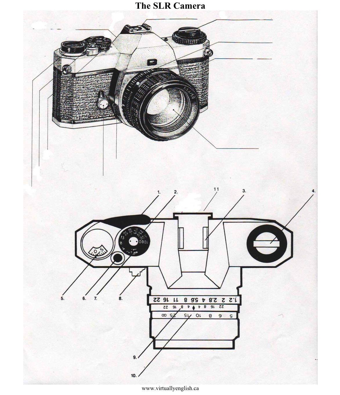 Film Camera Diagram
