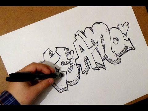 como dibujar te amo | como dibujar te amo de forma divertida | paso ...