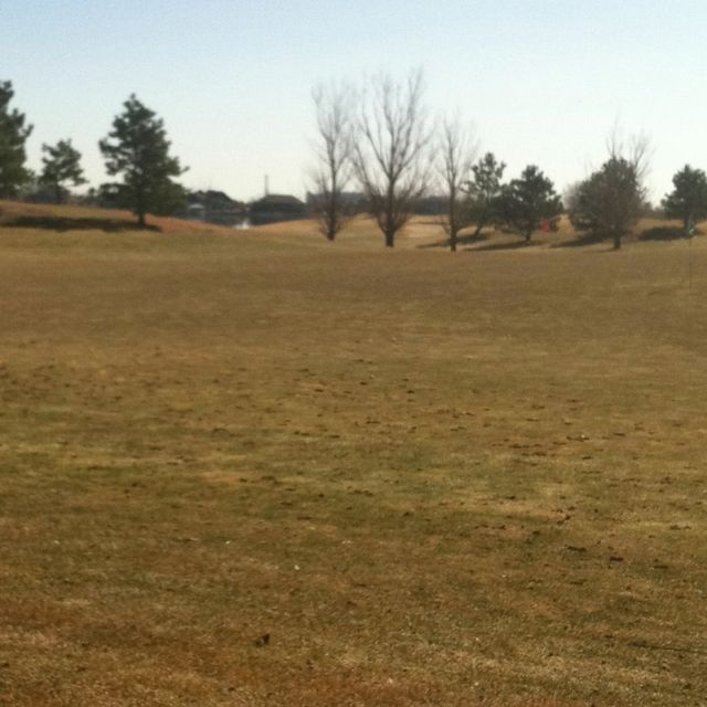 Working on the golf game at Pelican Lakes