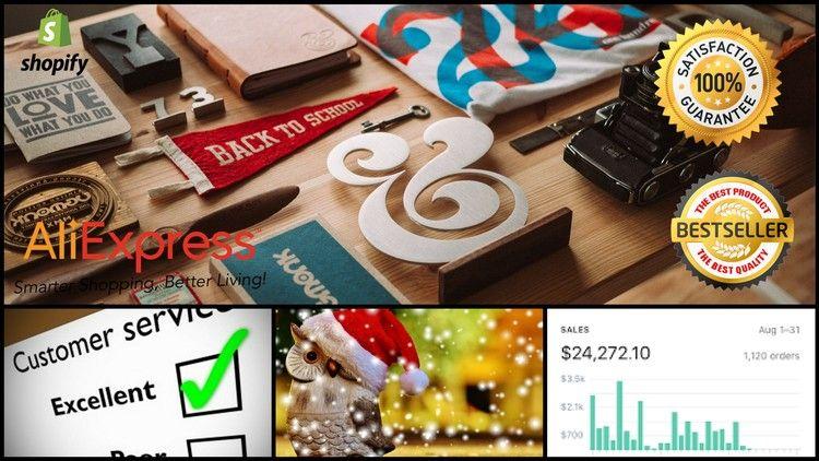 Make Passive Start Shopify Aliexpress Drop shipping