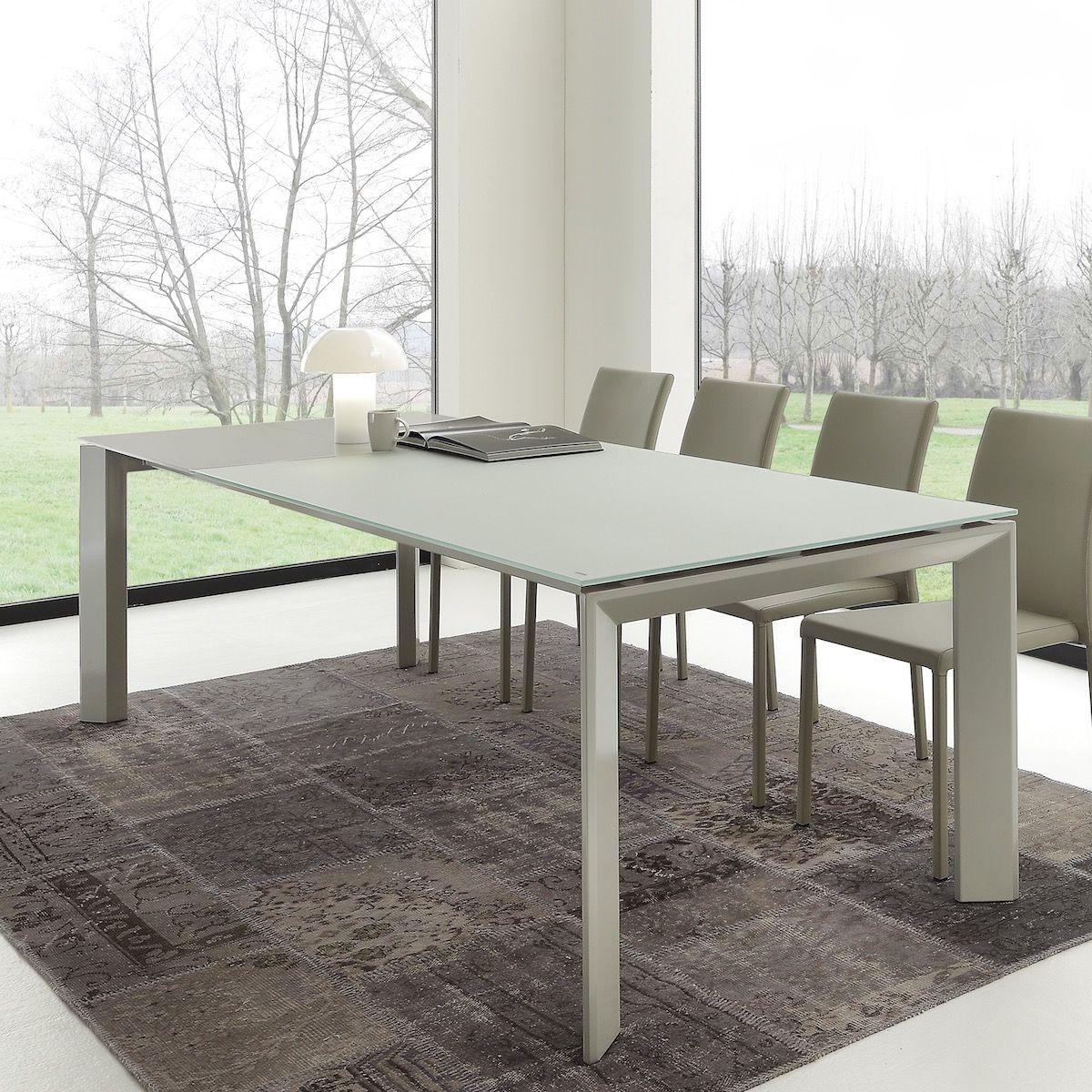 Tavolo allungabile per soggiorno / ufficio Antero 140x90