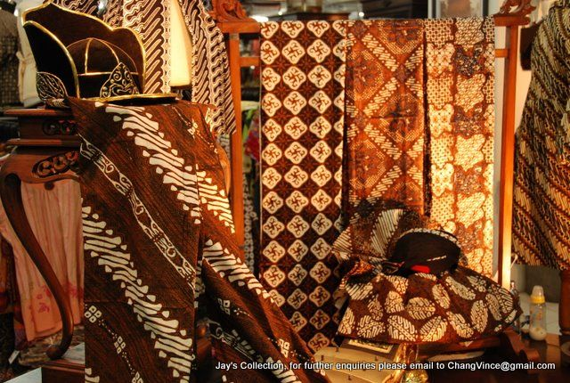 Beautiful Batik Tulis - Javanese Kraton pattern (Central Java).