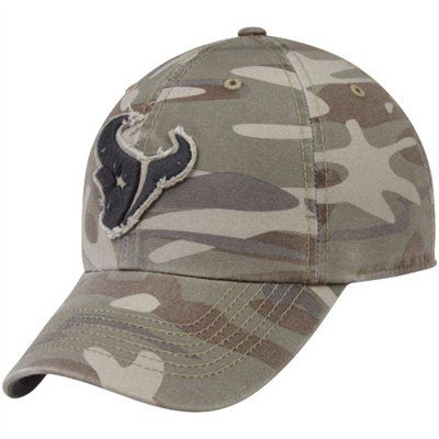 88cfad3f9  47 Brand Houston Texans Tarpoon Franchise Fitted Hat - Camo