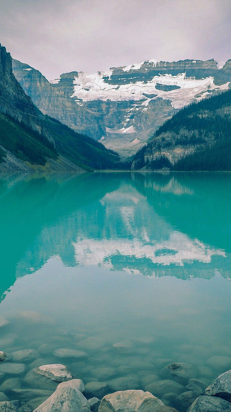 Get Wallpaper: http://iphone6papers.com/mk50-canada-lake-blue-louise-green-water-nature/ mk50-canada-lake-blue-louise-green-water-nature via http://iPhone6papers.com - Wallpapers for iPhone6 & plus