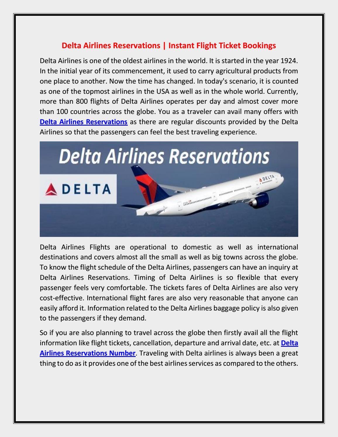 delta airlines flight schedule tomorrow