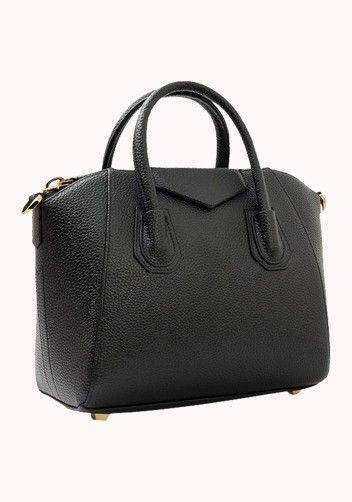 Christi Leather Bag Black | Fashion | Pinterest | Leather, Bag and ...