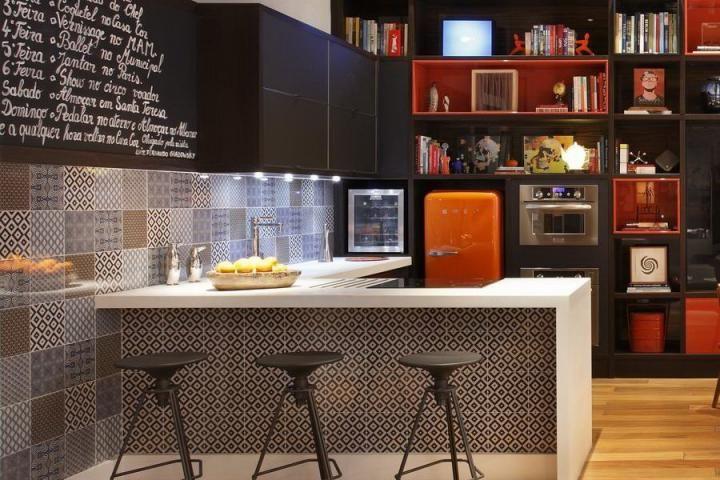 Ideas de decoración para un loft de diseño abierto