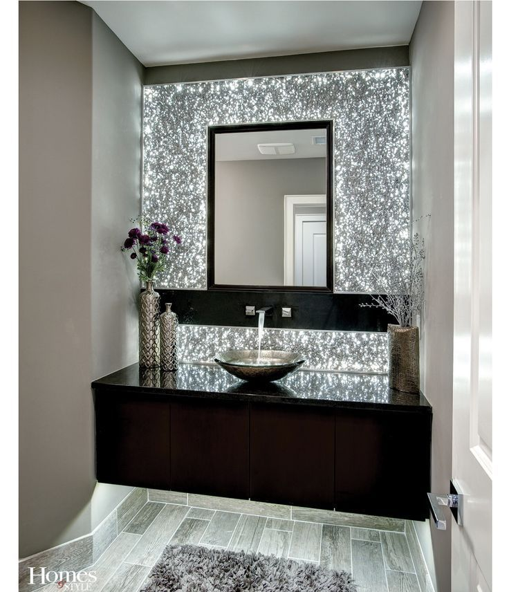 23 Diy Glitter Accent Wall Bathroom Sink Cabinets House