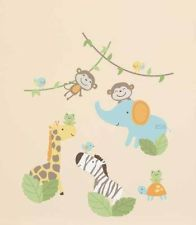 Jungle Play Sticker Appliques Safari Animals Boys Room Wall Decals By Carters