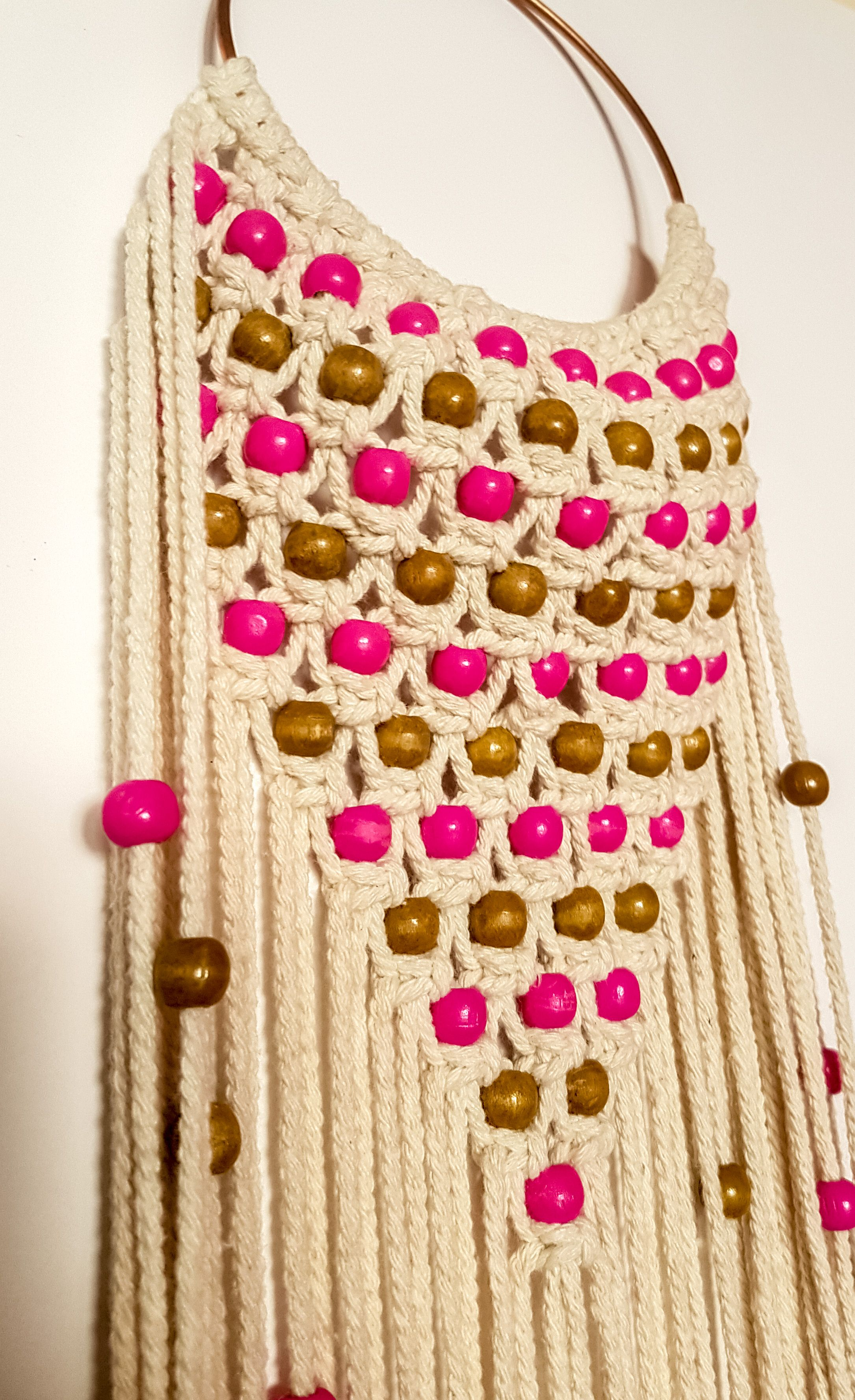 This macrame wall hanging is handmade by me, using my own created ...