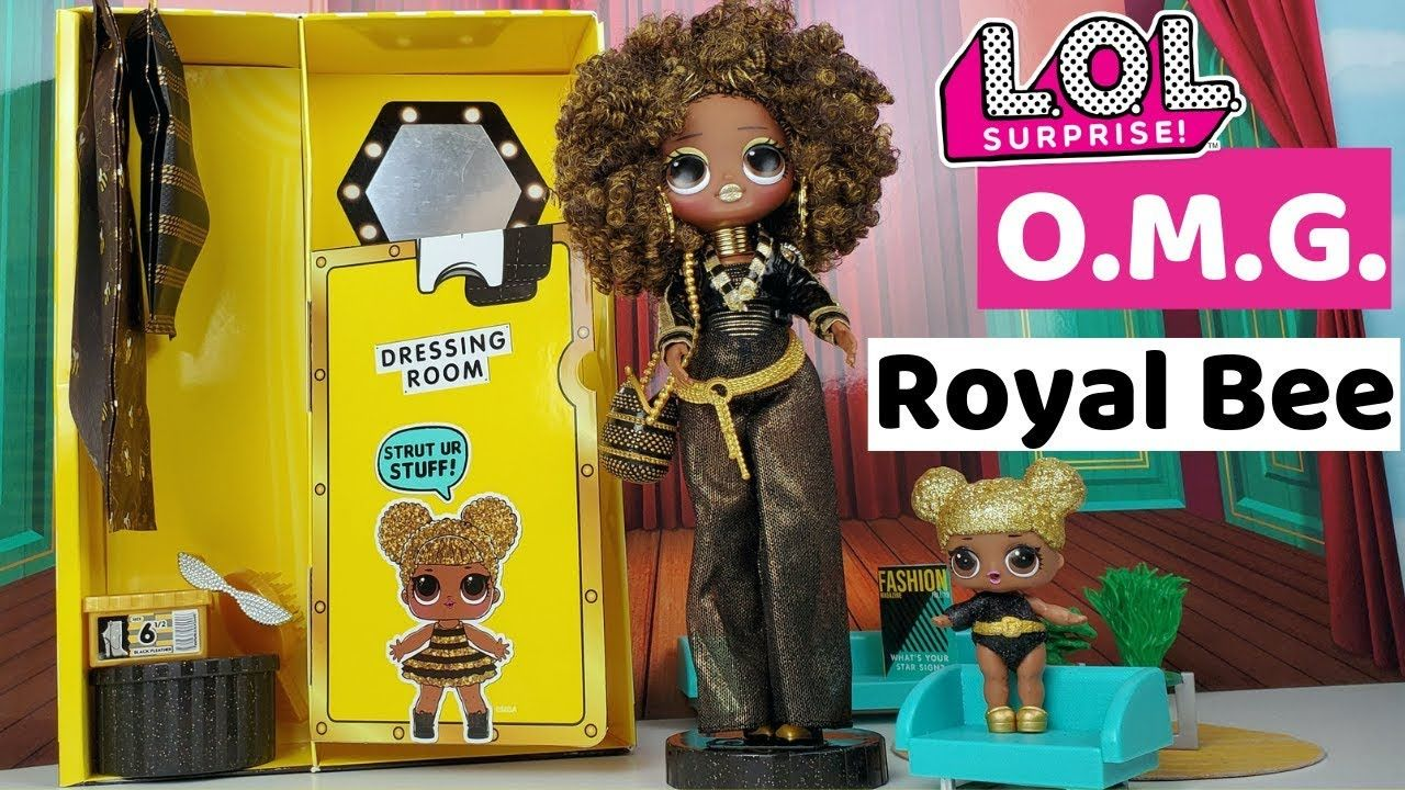 Lol Surprise Omg Royal Bee Big Sister Fashion Doll Unboxing