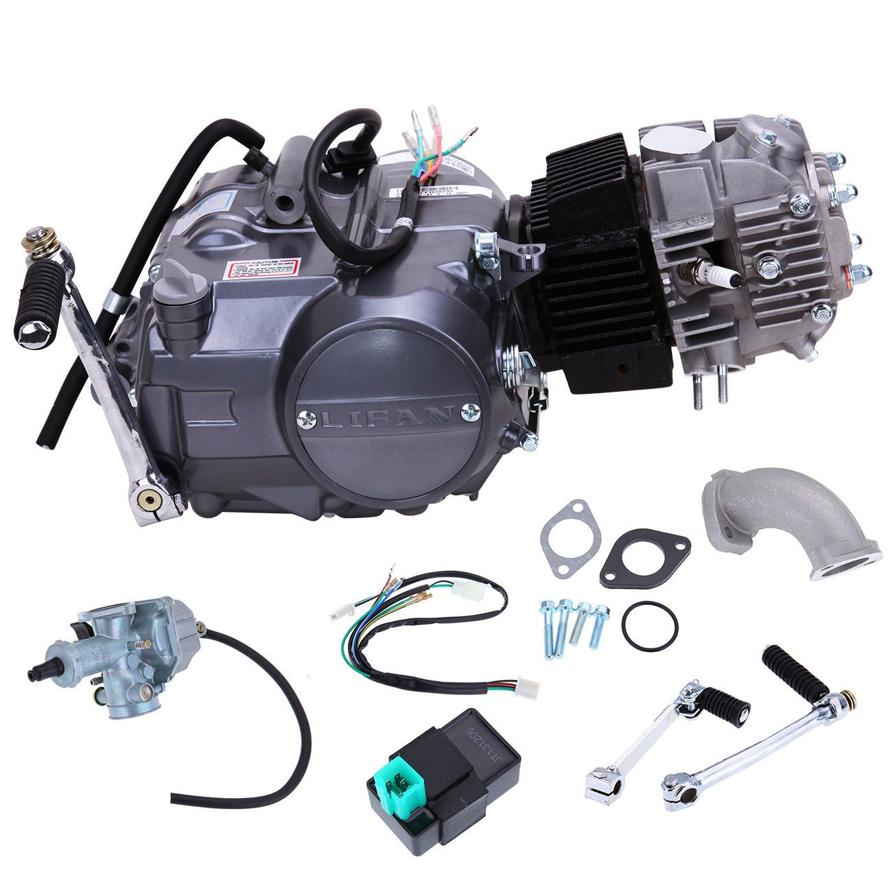 125cc 4 Stroke Single Cylinder Air Cooled Engine Motor For Honda Crf 50 70 Xr50 In Ebay Motors