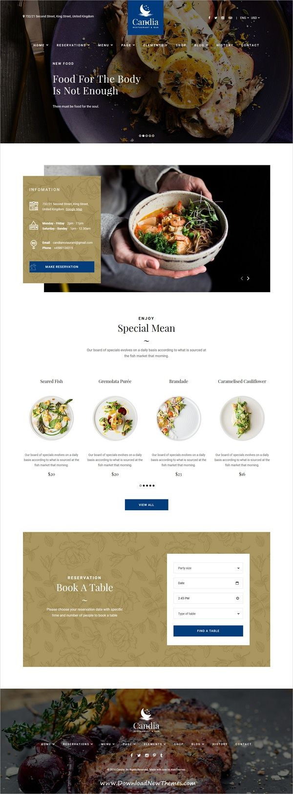 Candia Is Wonderful 3in1 Responsive Html Bootstrap Template For