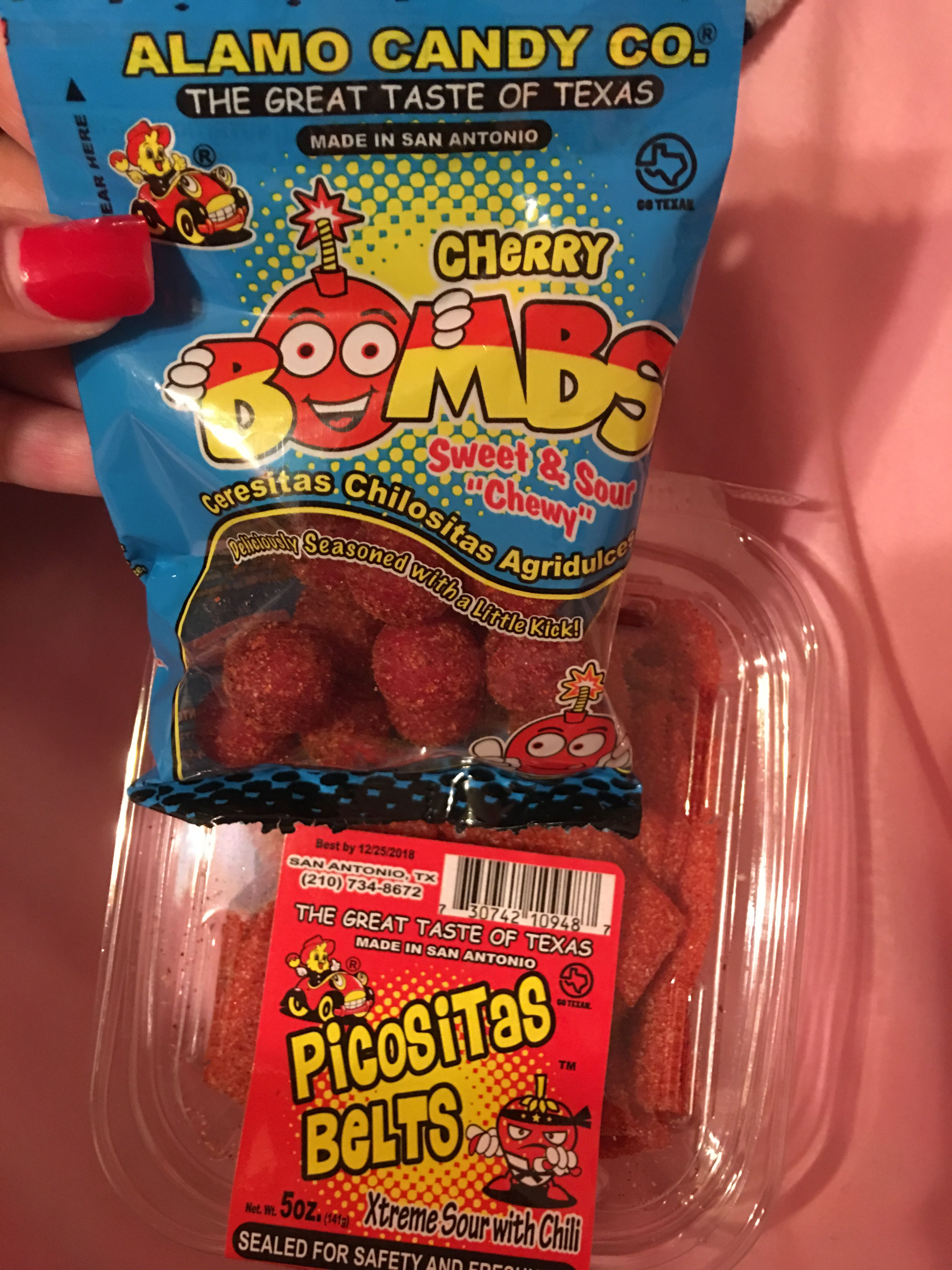 Picosita Belts Cherry Bombs Mexican Candy Snacks Mexican Candy Snacks Chewy