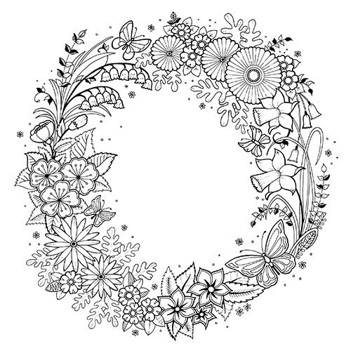 Fall Exclusive — © Johanna Basford Canon coloring pages