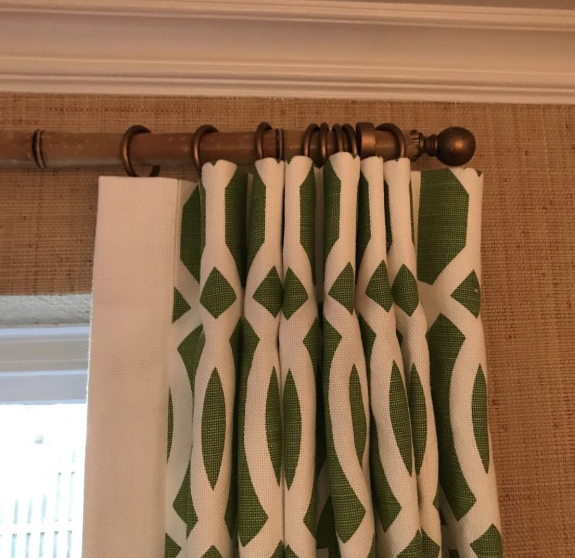 Bamboo Rods Drapery