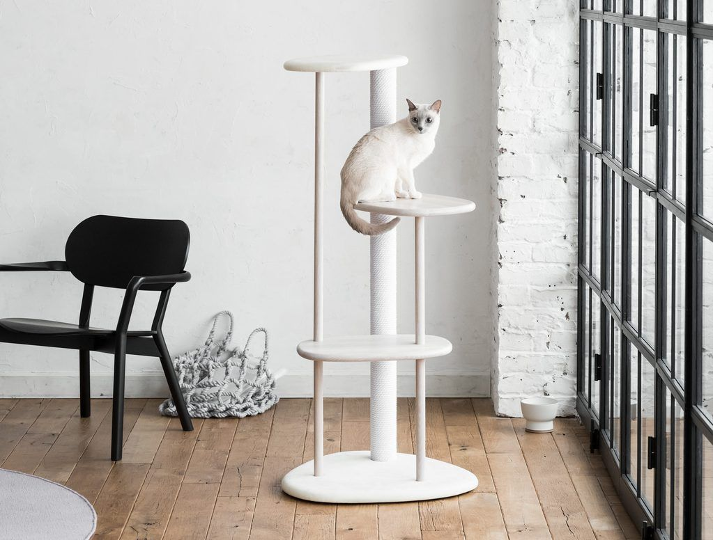 diy cat tree for small spaces