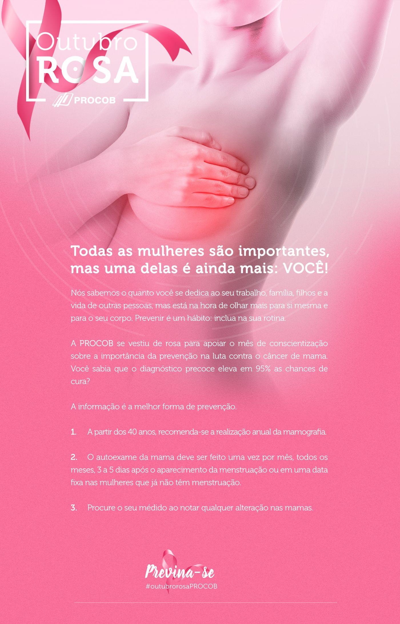 Campanha De Incentivo E Engajamento A Prevenção Do Câncer De Mama