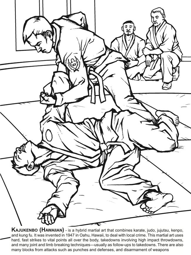 Welcome To Dover Publications Aikido Martial Arts Cartoon Character Design Martial Arts