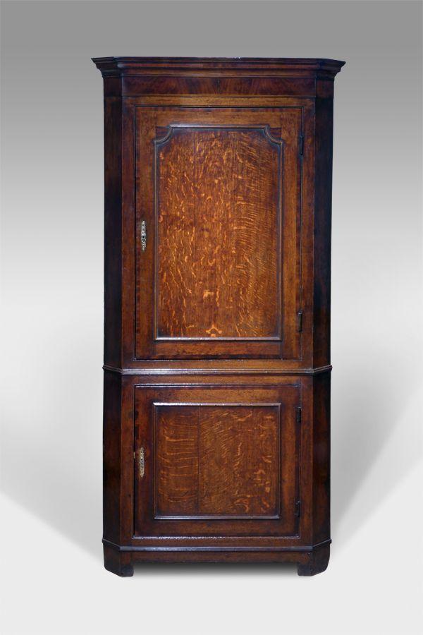 Antique oak corner cupboard - Antique Oak Corner Cupboard Antique Furniture And Antique