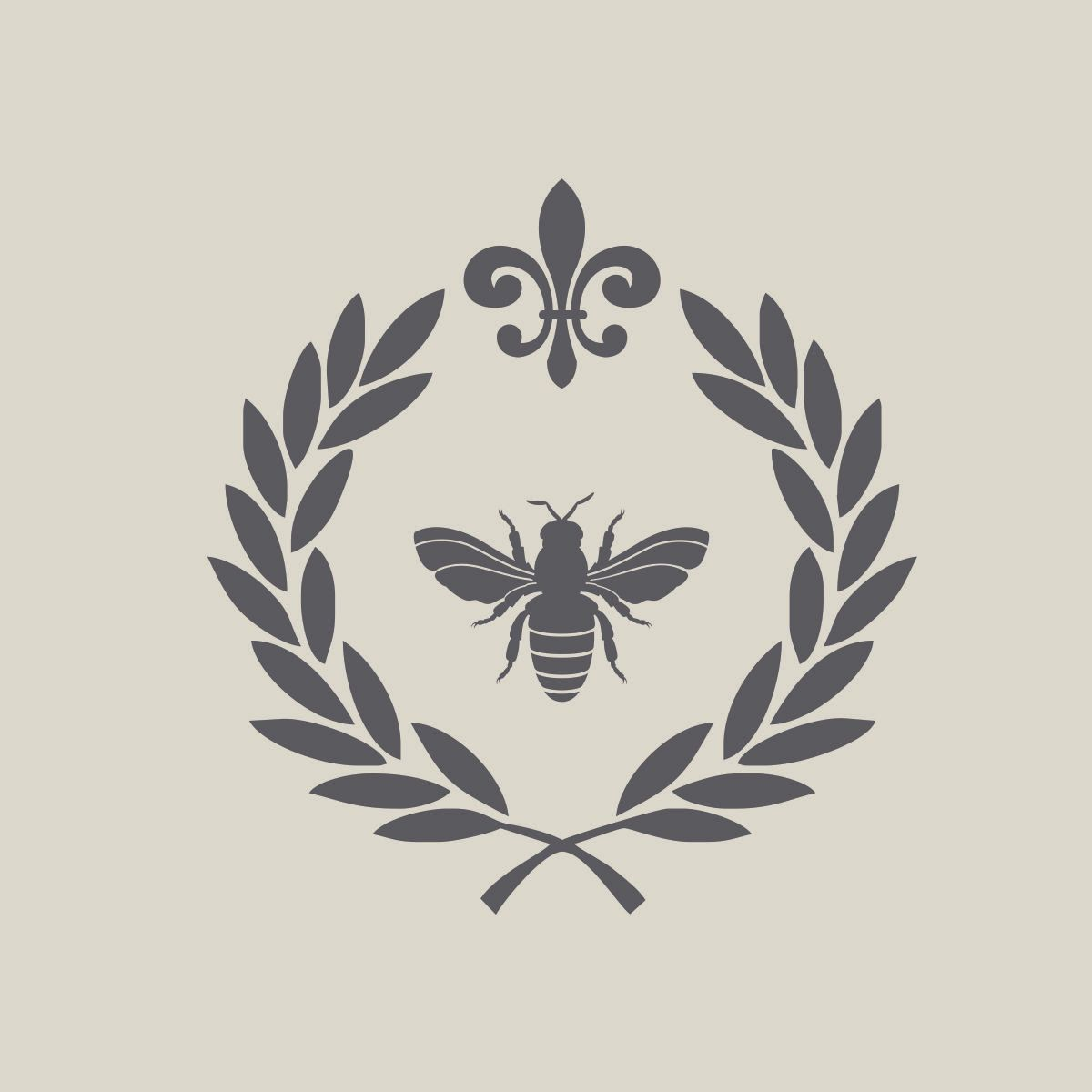 french by design vinyl wall decals laurel wreath bon appetit french by design vinyl wall decals laurel wreath bon appetit queen bee