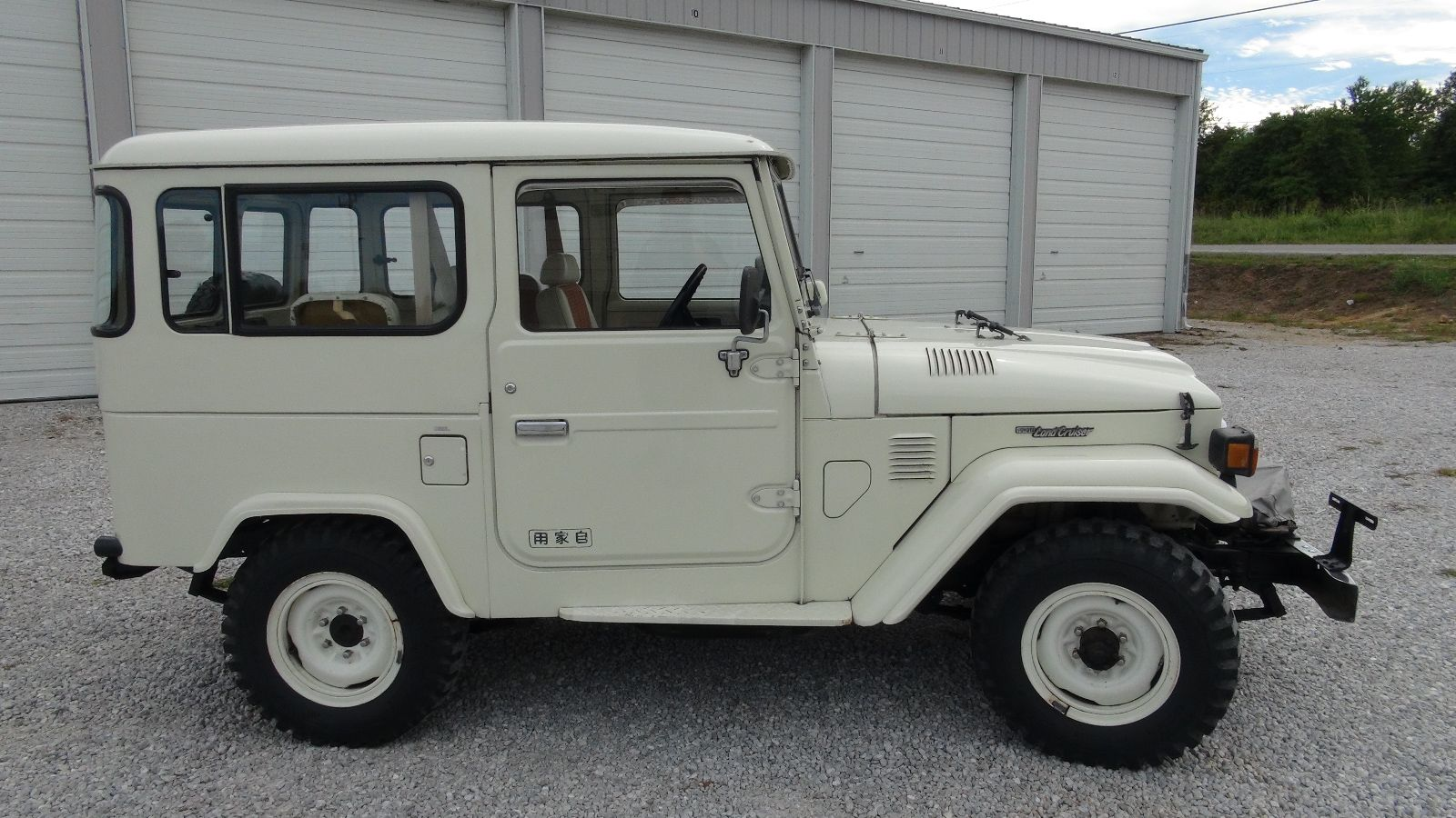 toyota-land-cruiser-BJ41-white-rare-4×4-clean-one-owner-m | Land ...