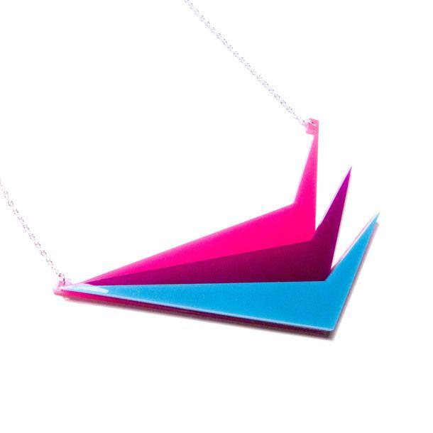 Triptic Necklace Brights by plastique* | Fab.com