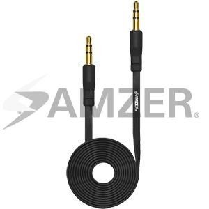 Amzer 35mm Auxiliary Audio Cable - 3ft - Black