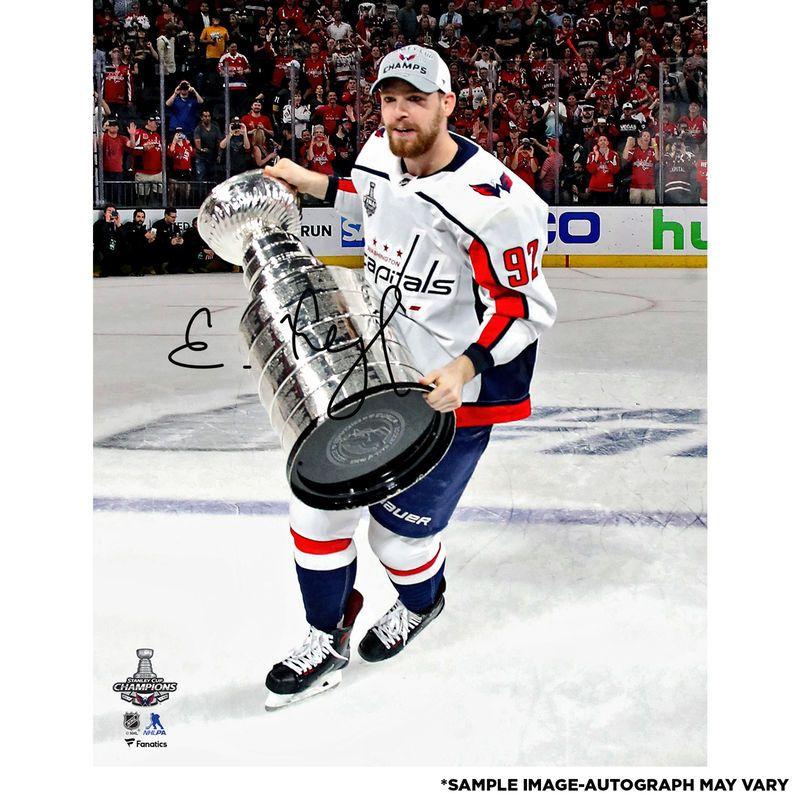 Evgeny Kuznetsov Washington Capitals Fanatics Authentic 2018 Stanley Cup  Champions Autographed 16