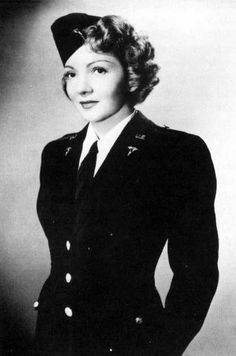 1943 - So Proudly, We Hail Claudette Colbert.