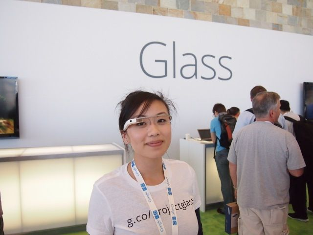 Google Project Glass in real life
