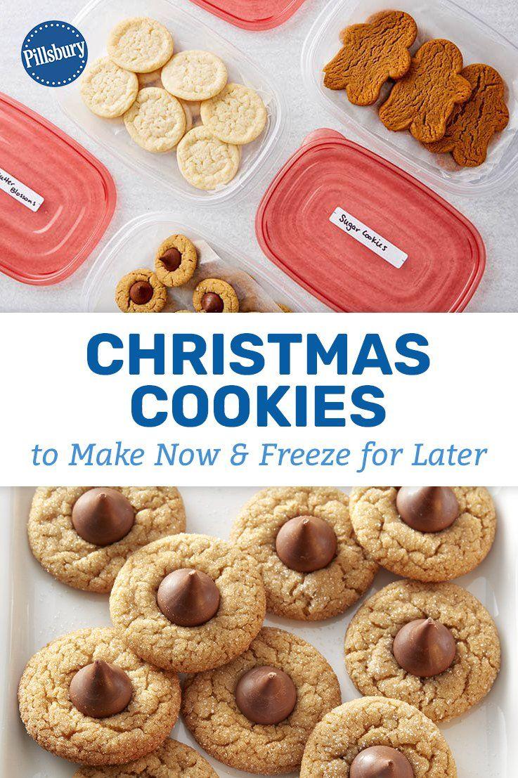Pillsbury Cookie Dough Recipes Christmas : pillsbury, cookie, dough, recipes, christmas, Christmas, Cookies, Freeze, Later, Frozen, Cookies,, Baking,