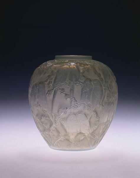Ren Lalique Vase With Birds C 1930 Cleveland Museum Of Art