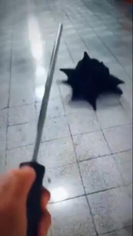 Serious umbrella malfunction 💀💀