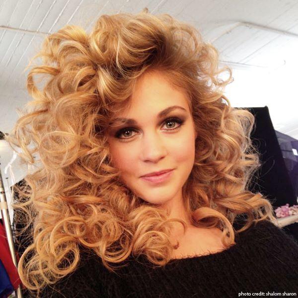 80's curls love long hair