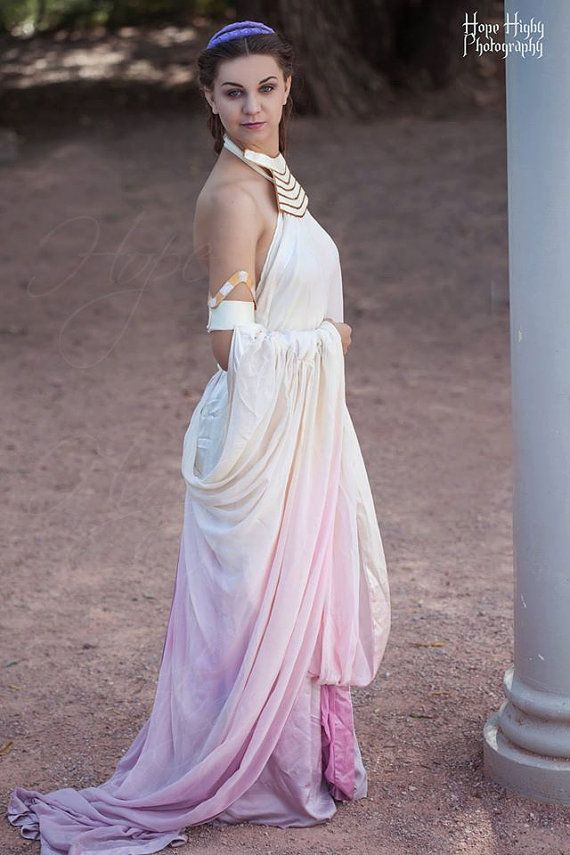 Padme Amidala Lake Gown Cosplay from Star Wars Episode II: Attack of ...
