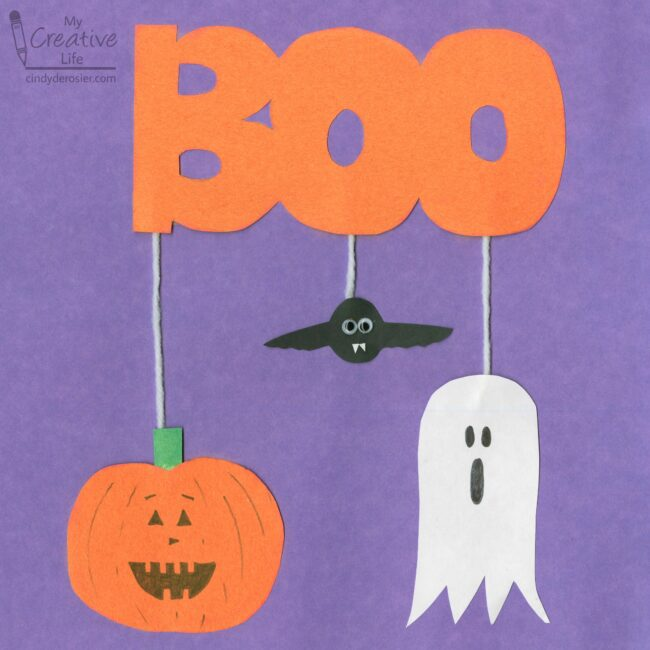 Halloween 2020 School Holidays BOO Halloween Mobile Craft | Fun Family Crafts in 2020 | School