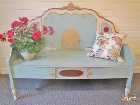 headboard benches for sale - Google Search