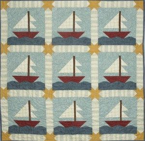 Sail Away Quilt Pattern by All Through The Night Baby Child Quilt ... : all through the night quilt patterns - Adamdwight.com