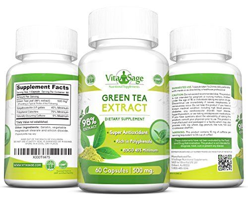 Vita health green coffee bean extract